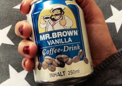MR.BROWN COFFEE DRINK VANILLA 5 Sterne