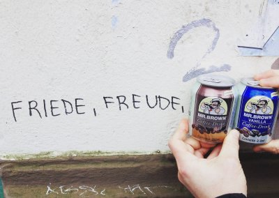 FRIEDE, FREUDE, MR.BROWN COFFEE DRINK VANILLA UND CLASSIC