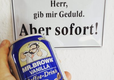 Herr-gibmir-geduld | MR.BROWN Coffee Drink Vanilla