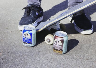 SKATER – MR.BROWN COFFEE DRINK VANILLA UND CLASSIC