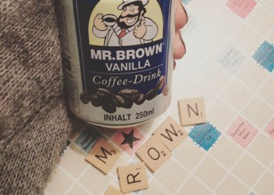 Scrabble – MR.BROWN COFFEE DRINK VANILLA