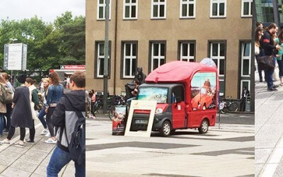 Coffee Drinks probieren an der Uni Köln!