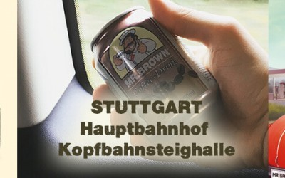 Coffee Drink in Stuttgart Hauptbahnhof!