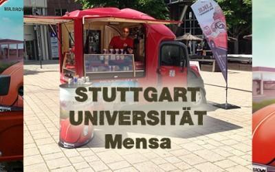 Kaffeepause mit MR.BROWN in Stuttgart!