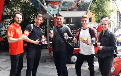 MR.BROWN Sampling Tour 2017: Weiter gratis Eiskaffee in Berlin!