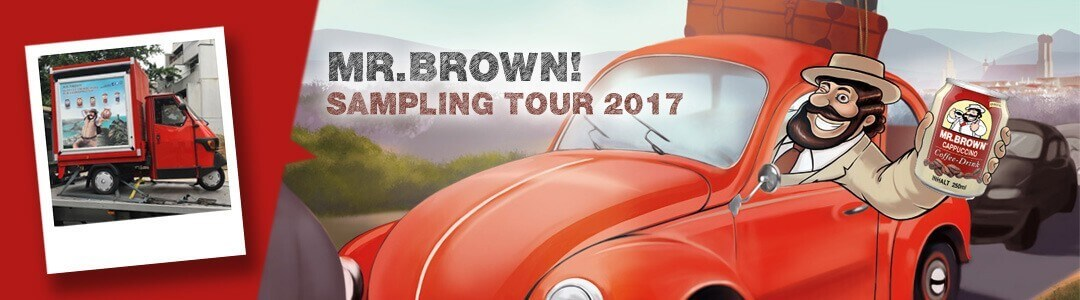 MR.BROWN Eiskaffee – Roadshow 2017!
