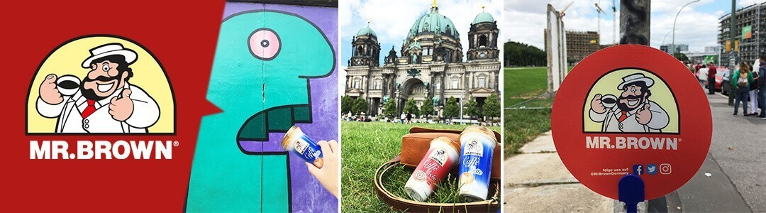 MR.BROWN Sampling Tour 2017: Eiskaffee und wunderbare Stimmung in Berlin!