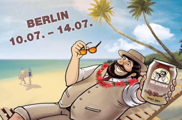 MR.BROWN Caffe Latte, Caffe Mocha, Cappuccino, Vanilla und Classic in Berlin probieren.