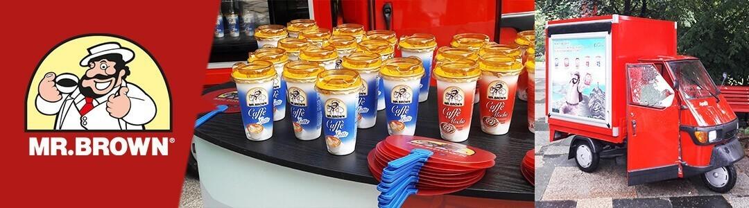 MR.BROWN in München: Eiskaffee geht immer!